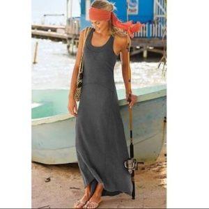 Athleta Gray Maxi Dress